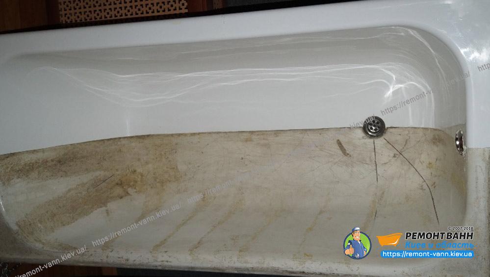 Реставрация ванны в Киеве + область